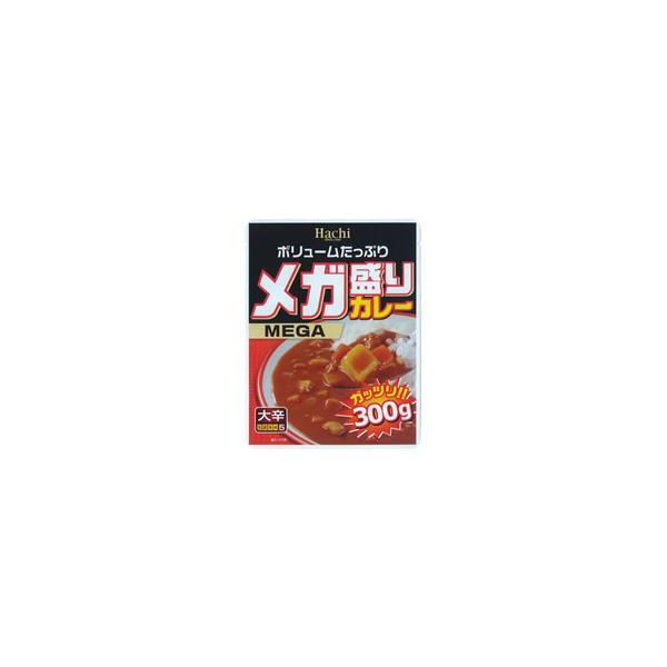 ハチ食品 メガ盛りカレー 大辛 300g 1食