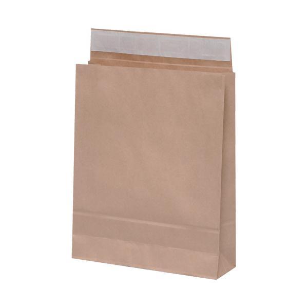 パックタケヤマ 宅配袋 小 封かんテープ付 茶 XZT50000 1パック(50枚)