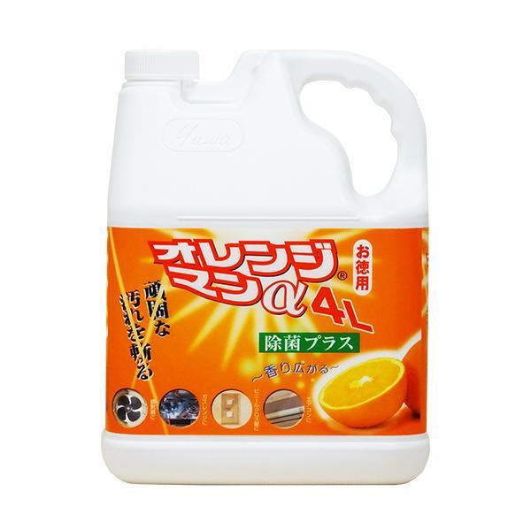 友和 オレンジマンα 4L 1個 (お取寄せ品)