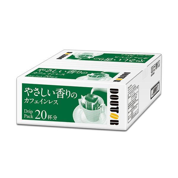 ドトールコーヒーやさしい香りのカフェインレス7g1箱(20袋)