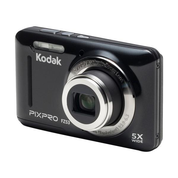 コダック コンパクトデジタルカメラ PIXPRO ブラック FZ53BK 1台