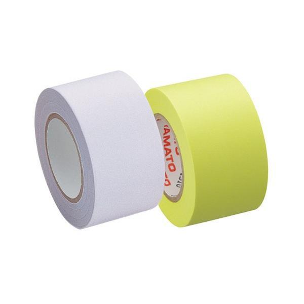 ヤマト メモック ロールテープ つめかえ用 25mm幅 白&レモン R−25H−WL 1パック(2巻)
