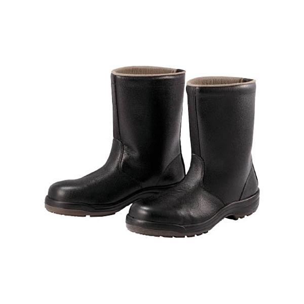 ミドリ安全 ウレタン2層底 安全靴 半長靴 27.5CM CF140−27.5 1足 (メーカー直送)
