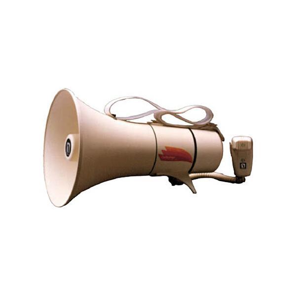 ノボル電機製作所 ノボル ショルダータイプメガホン 13Wホイッスル音付き(電池別売) TM−208 1台 (メーカー直送)