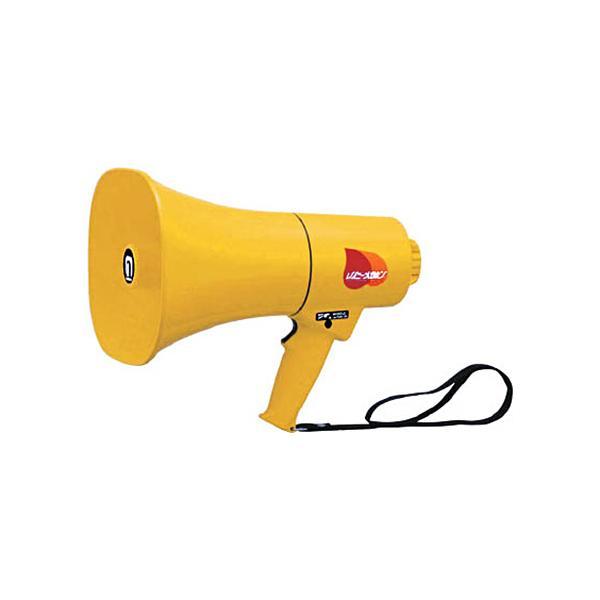 ノボル電機製作所 ノボル レイニーメガホン15W 防水仕様 ホイッスル音付き(電池別売) TS−714 1台 (メーカー直送)