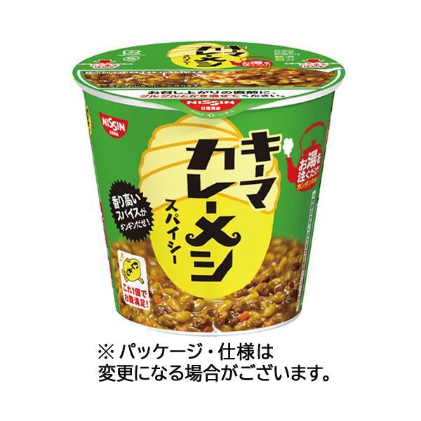 日清食品キーマカレーメシスパイシー105g1セット(6食)(お取寄せ品)