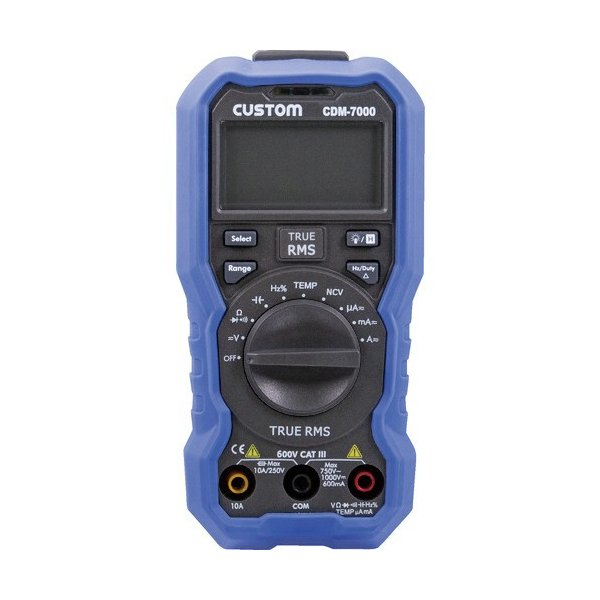 カスタム デジタルマルチメータ CDM−7000 1台 (メーカー直送)