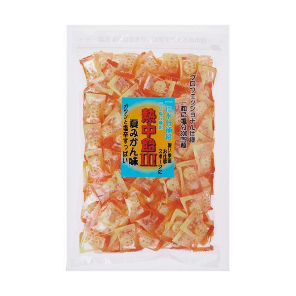 井関食品 熱中飴 夏みかん味 1kg/袋 1セット(3袋)