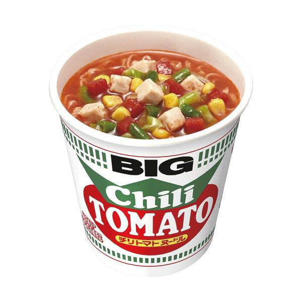 日清食品カップヌードルチリトマトヌードルビッグ107g1ケース(12食)