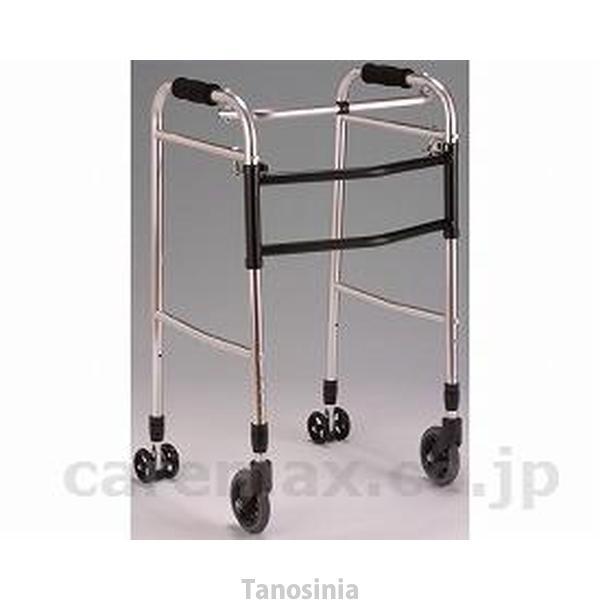 クリスタル ウォーカー 交互固定兼用折り畳型 AL-102 歩行器 リハビリ 歩行補助 高齢者用 hkz|tanosinia