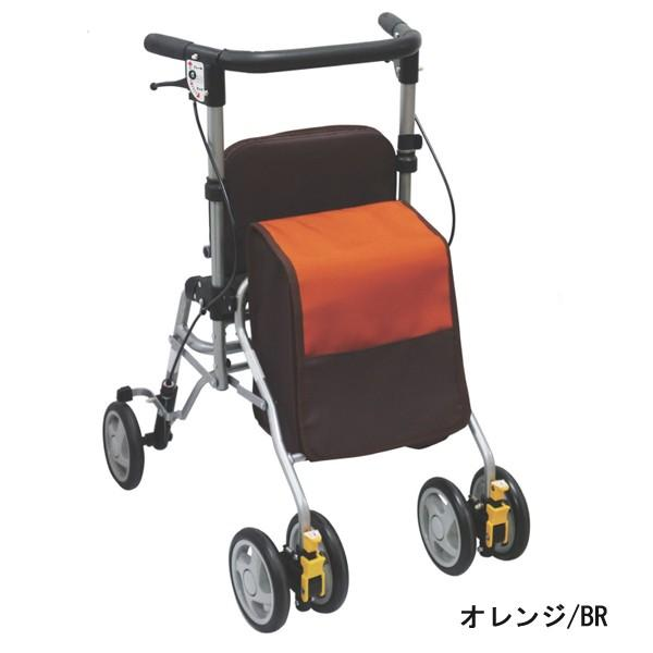 歩行器 歩行車 シンフォニーSP スリム 屋外用歩行器 室外用 島製作所 介護用品