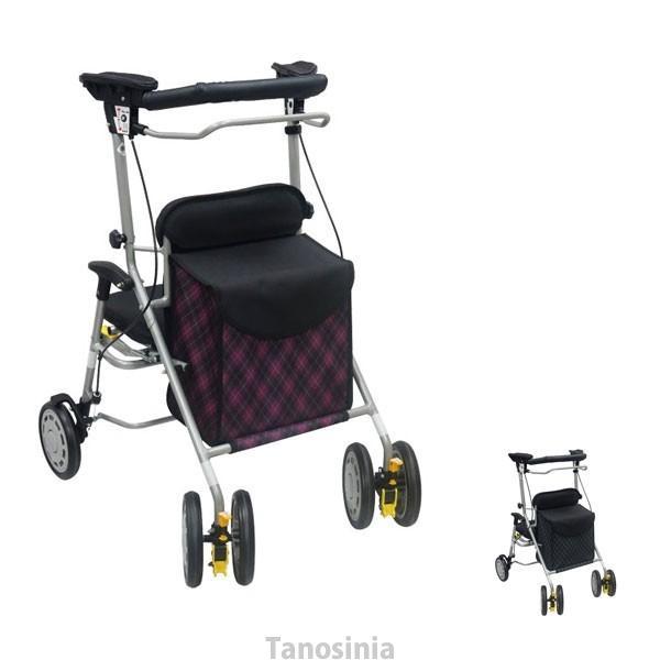 歩行器 歩行車 シンフォニーワイドSPII 屋外用歩行器 室外用 島製作所 介護用品 hkz