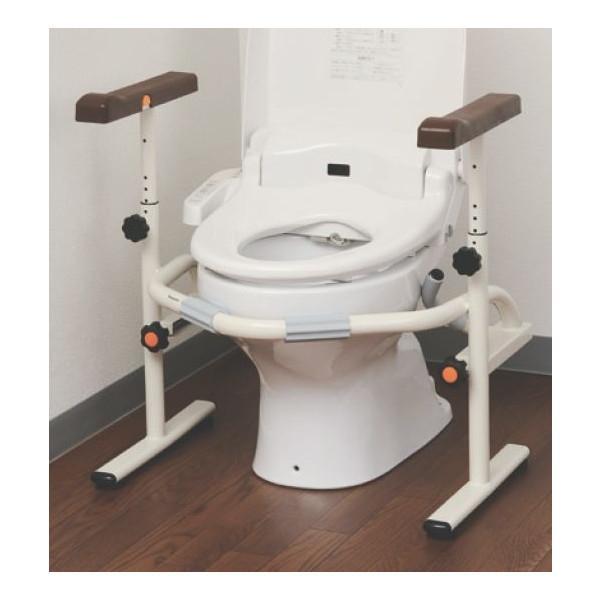 介護用品 洋式トイレ用スライド手すり ステンレス PN-L53001 トイレ用手すり