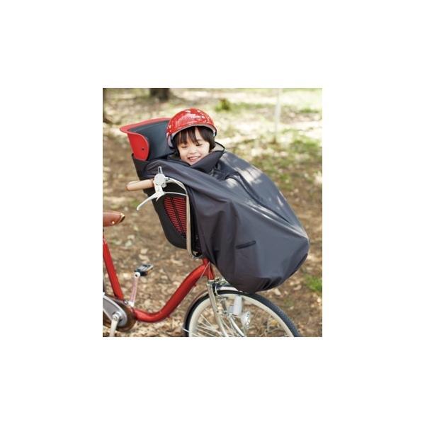 [送料無料] 自転車の前乗せチャイルドシート用ブランケット毛布 OGK前子供乗せ用着る毛布[BKF-001/フロント用] 子ども/幼児/寒さ対策/寒さよけ/防寒マフ|tanpopo|05