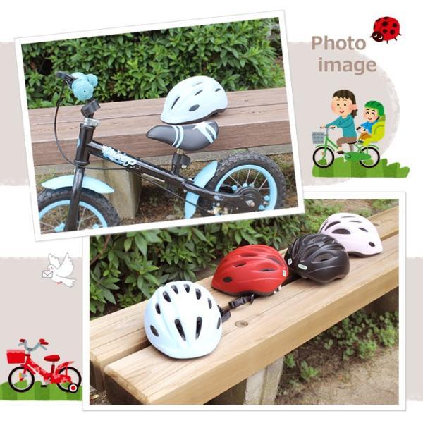子供用ヘルメット キアーロ T-HB6-3 自転車 一輪車 チャイルドシート子供乗せ ストライダー 幼児 1歳〜3歳(48〜52cm未満)キッズ ジュニア3歳〜6歳(52〜56cm未満) tanpopo 02