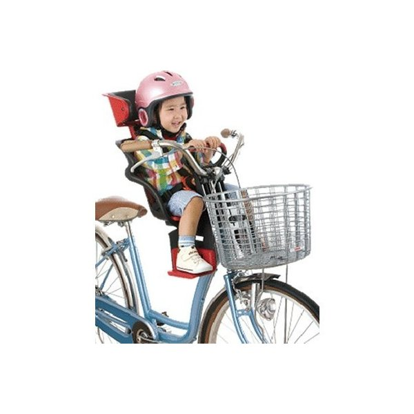 [送料無料] 自転車 チャイルドシート 前 子供乗せ OGKチャイルドシートFBC-011DX3 電動自転車やママチャリに対応した自転車用OGK前用ヘッドレスト付き子供のせ|tanpopo|03