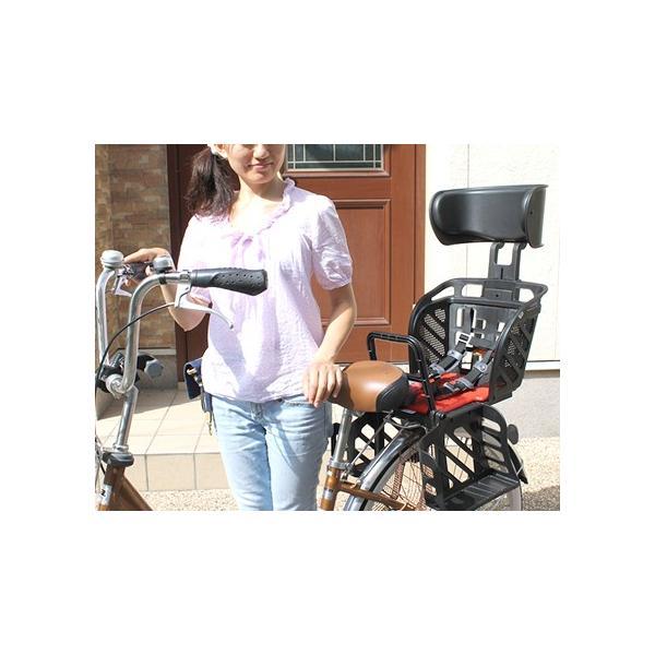 [送料無料]自転車 チャイルドシート 後ろ 子供乗せ OGKチャイルドシートRBC-009DX3 電動自転車 ママチャリ対応の自転車用後ろ用OGK後用ヘッドレスト付き|tanpopo|03
