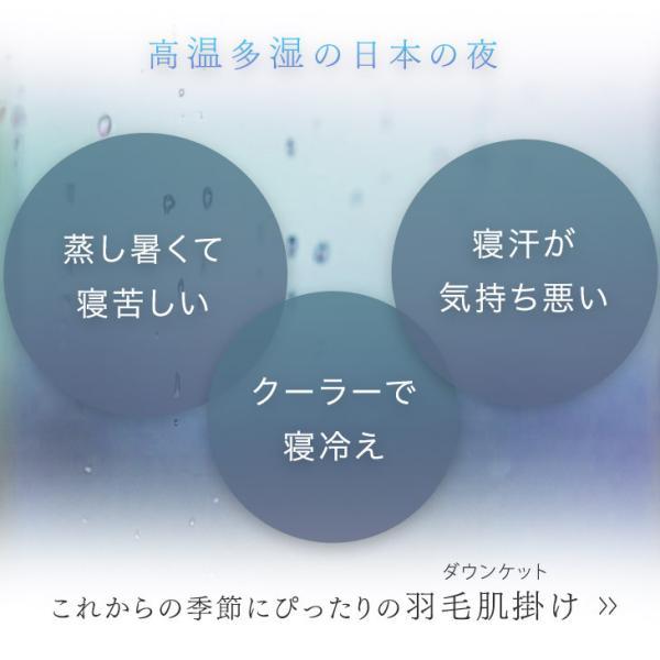 ダウンケット 羽毛肌掛け布団 シングル 日本製 洗える 肌掛け布団 ダウンケット 肌布団 夏用 tansu 06