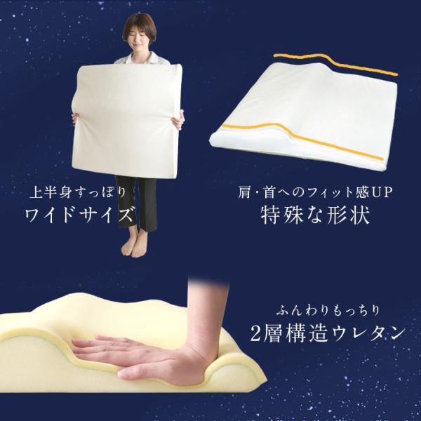 枕 まくら 肩こり 低反発枕 ウレタン ピロー マクラ 蒸れにくい 低反発 寝汗 柔らかい 高さ調整 やわらかい ボディ サポート|tansu|03