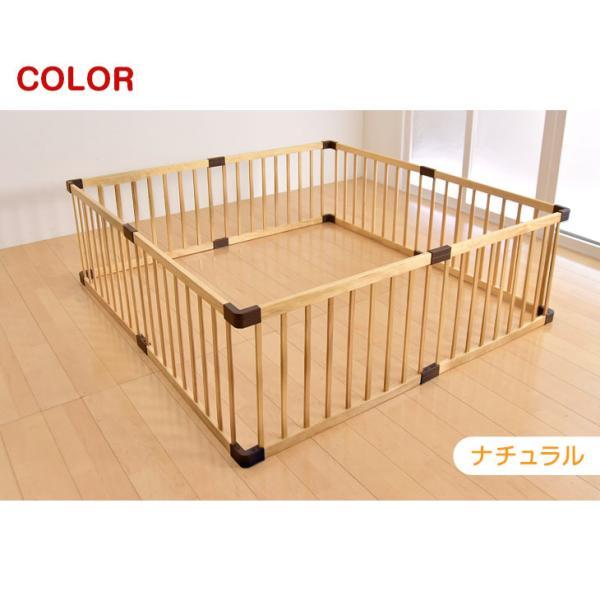 ベビーサークル 木製ベビーサークル 8枚セット 赤ちゃん 簡単組立 プレイペン 8枚 セット ベビーデイズ|tansu|14