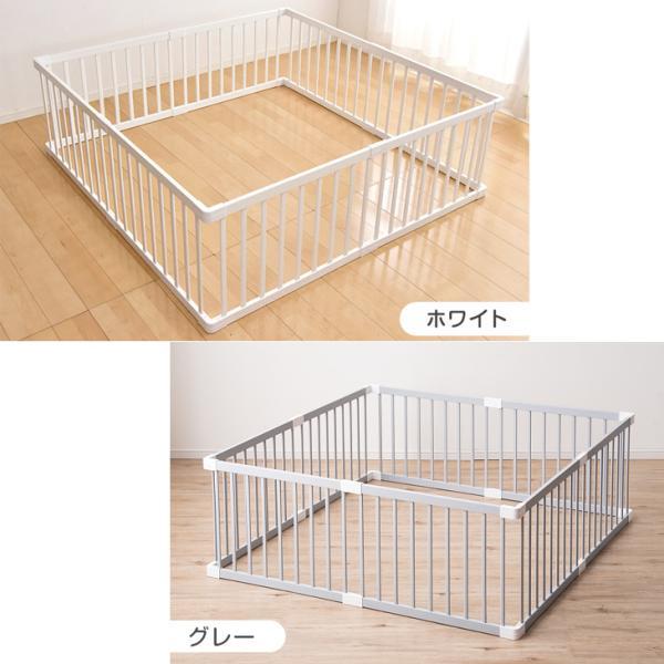 ベビーサークル 木製ベビーサークル 8枚セット 赤ちゃん 簡単組立 プレイペン 8枚 セット ベビーデイズ|tansu|15