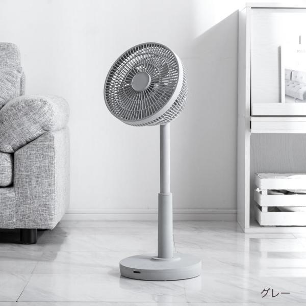 DC扇風機 首振り扇風機 サーキュレーター扇風機 リビング扇風機 DCモーター 首振り 7枚羽 タイマー リモコン付き 木目 逆回転 おしゃれ 静音|tansu|18
