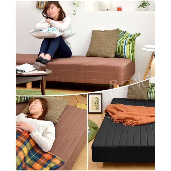 脚付きマットレス 分割 ベッド シングルベッド シングル 分割式 脚付きマットレスベッド ボンネルコイルマットレス|tansu|05