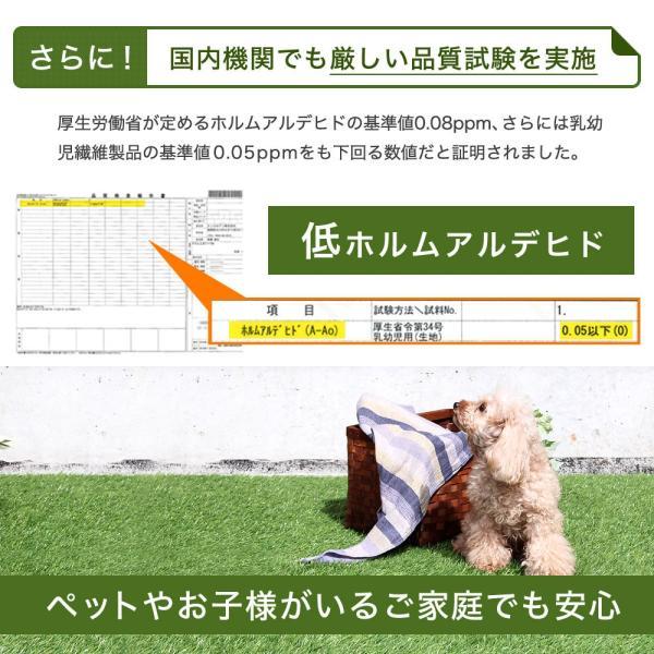 人工芝 ロール リアル人工芝 1m×10m 芝生 ガーデン ガーデニング|tansu|08