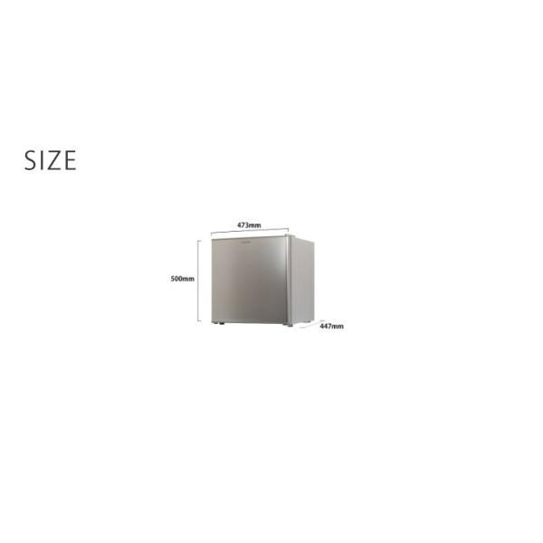 冷凍庫 家庭用 1ドア冷凍庫 32L 小型冷凍庫 小型 前開き 一人暮らし 両扉対応 小型 コンパクト|tansu|05