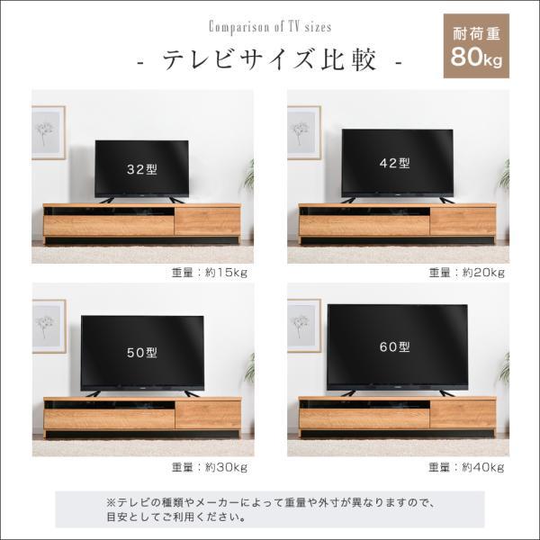 テレビ台 ローボード 完成品 幅174cm おしゃれ テレビボード 国産 日本製 約180cm|tansu|07