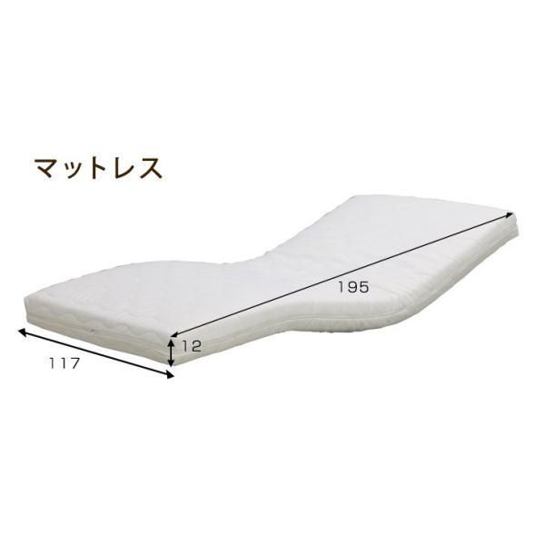 電動ベッド 2モーター セミダブル 開梱設置付き 無段階リクライニング セミダブルサイズ ウレタン マットレス 介護 ベッド 介護用ベッド ガード グリップ 寝具|tansu|03