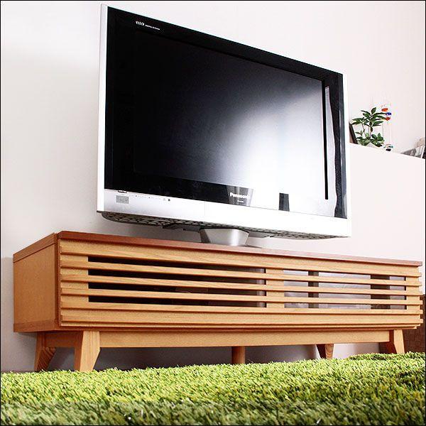 テレビ台 ローボード 幅120cm TV台 ローボードテレビ台 完成品 天然木 収納 シンプル テレビボード 120|tansu