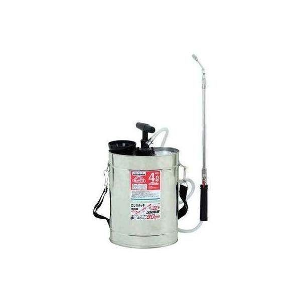 セフティー3 4977292655026 ロングタッチ肩掛半自動噴霧器 4L ジュシポンプ
