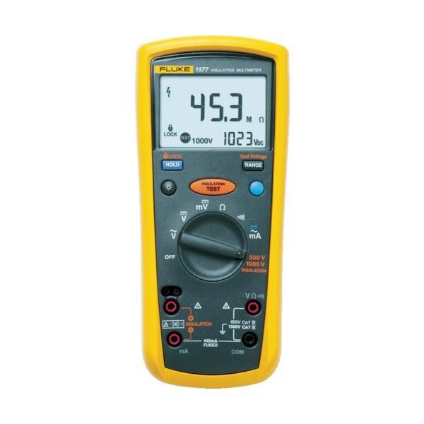 トラスコ中山 tr-7693176 FLUKE デジタル・マルチメーター付絶縁抵抗計(2レンジ) (tr7693176)