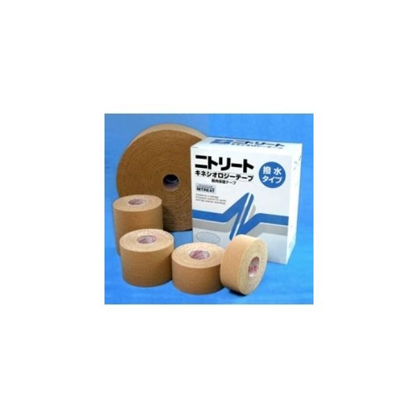ds-103646 ニトリート キネシオロジーテープ(撥水) NKH-75L(業務用) (ds103646)