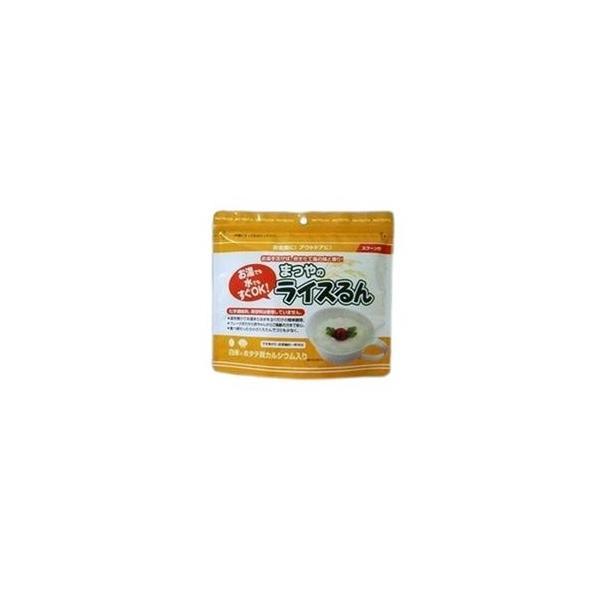 ds-1172859 アルファ化米お粥 まつやのライスるん ホタテ貝カルシューム入り 50パック (ds1172859)