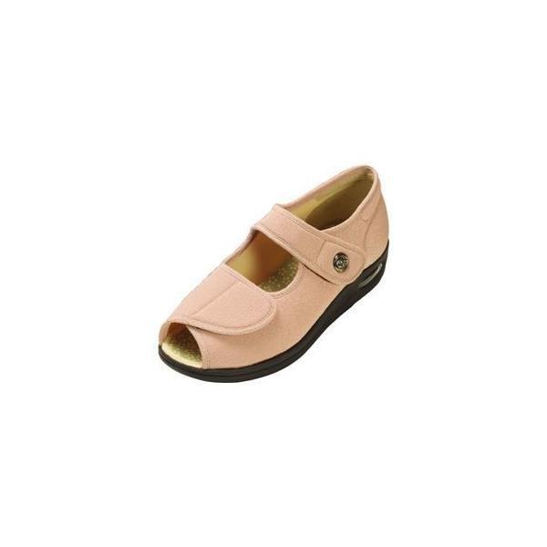 ds-1432009 マリアンヌ製靴 彩彩〜ちりめん〜 W1103 婦人用 /21.5cm さくら (ds1432009)