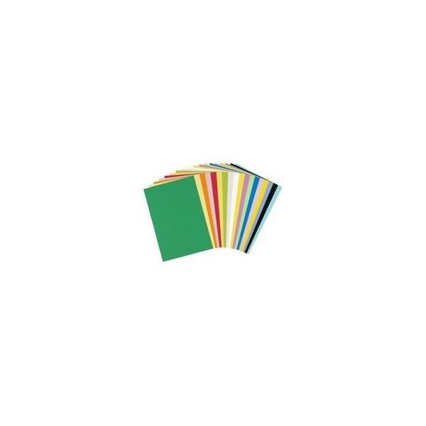 ds-1471515 (業務用2セット)大王製紙 再生色画用紙/工作用紙 【四つ切り 100枚】 うすみどり (ds1471515)
