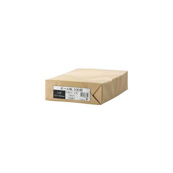 ds-1576119 (まとめ) 今村紙工 ボール紙 A4 業務用パック TTM-A4 1セット(300枚:100枚×3パック) 【×2セット】 (ds1576119)