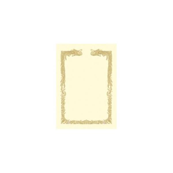 ds-1742337 (業務用10セット) タカ印 賞状用紙 10-1468 横書 A4CR 100枚 (ds1742337)