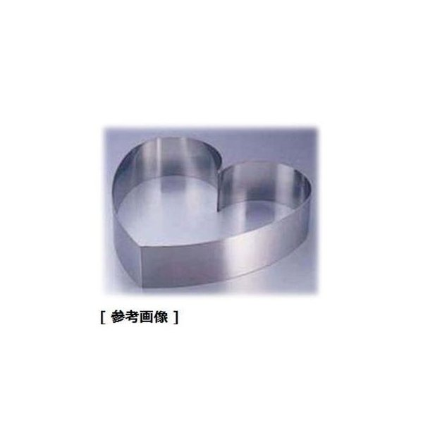 TKG (Total Kitchen Goods) NLV133 SA18-8ウェディングケーキ用リング(ハート 小)