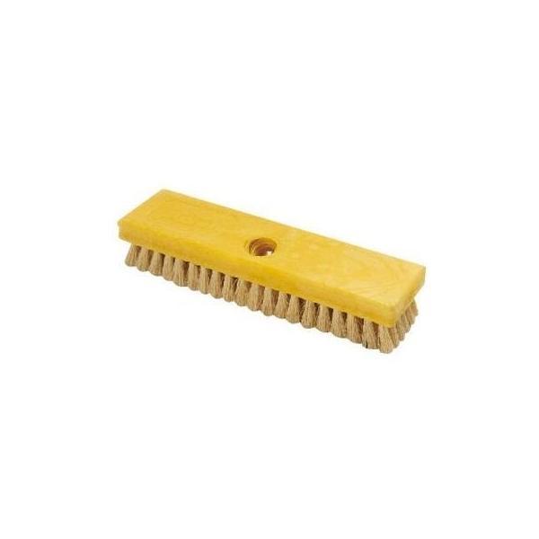 トラスト KTLF302 トラストデッキブラシ6753(イエロー)