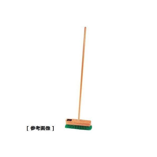 高砂 KDT06020 木柄ナイロンデッキブラシ(20cm)