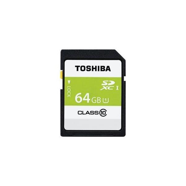 ds-1866613 東芝 SDXCメモリカード 64GB Class10 SDAR40N64G (ds1866613)