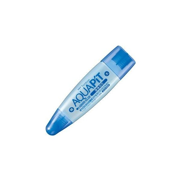 ds-2117089 (まとめ) トンボ鉛筆 液体のり アクアピット 本体50ml PT-WT 1個 【×50セット】 (ds2117089)