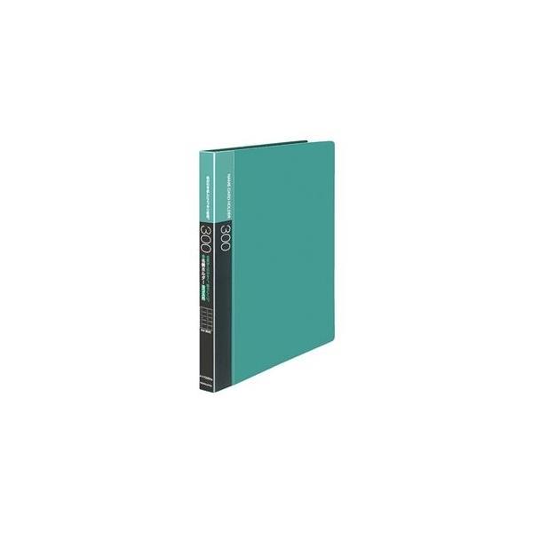 ds-2129499 (まとめ)コクヨ名刺ホルダー(替紙式・発泡PPシートタイプ) 30穴 300名 ヨコ入れ 緑 メイ-F335NG 1冊 【×3セット】 (ds2129499)