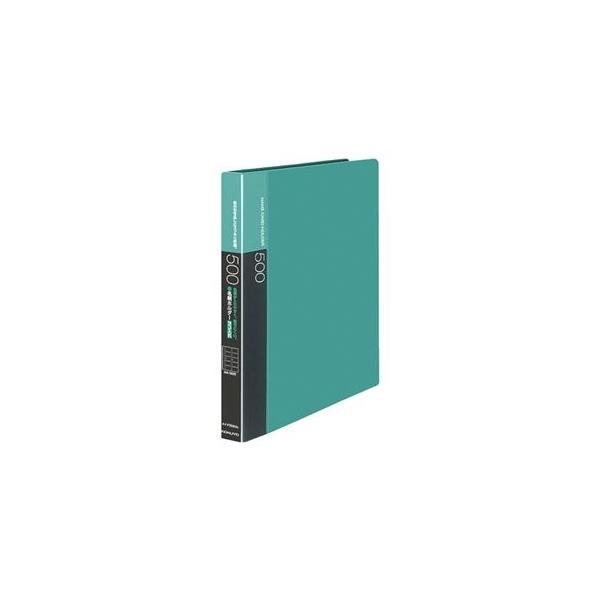 ds-2129632 (まとめ)コクヨ名刺ホルダー(替紙式・発泡PPシートタイプ) 30穴 500名 ヨコ入れ 緑 メイ-F355NG 1冊 【×3セット】 (ds2129632)