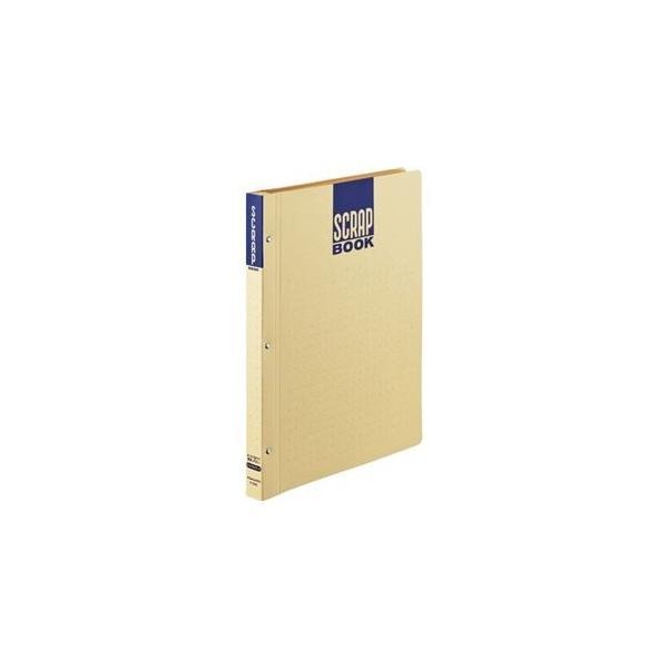 ds-2240655 (まとめ) コクヨスクラップブックD(とじ込み式・ドットガイド入り) A4 中紙28枚 背幅25mm クラフト ラ-D40 1冊  【×30セット】 (ds2240655)