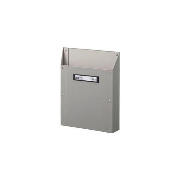 ds-2225530 (まとめ) TANOSEEマグネットボックス(貼り表紙) A4タテ型 グレー 1個  【×10セット】 (ds2225530)