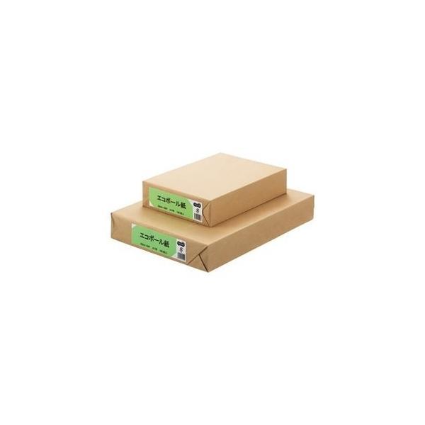 ds-2228818 (まとめ) TANOSEE エコボール紙 A4 450g/m2 1パック(100枚)  【×10セット】 (ds2228818)